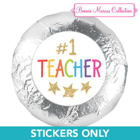 """Bonnie Marcus Collection 1.25"""" Stickers Gold Star (48 Stickers)"""