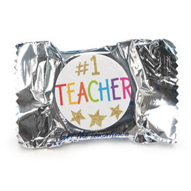 Bonnie Marcus Collection Teacher Appreciation Peppermint Patties Gold Star