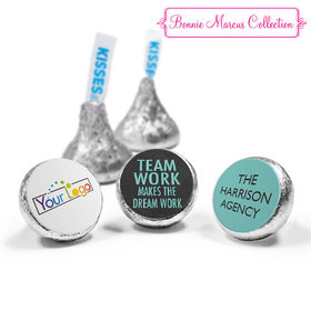 Personalized Bonnie Marcus Collection Teamwork Word Cloud Assembled Hershey's Kisses (50 Pack)