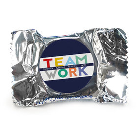 Personalized Bonnie Marcus Collection Teamwork Word Cloud York Peppermint Patties (84 Pack)