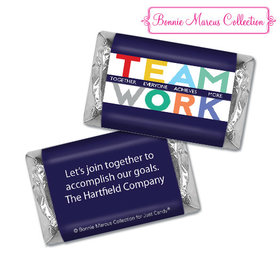 Personalized Bonnie Marcus Collection Teamwork Acrostic Hershey's Miniatures