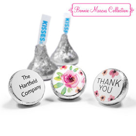 Personalized Bonnie Marcus Thank You Bouquet Hershey's Kisses (50 Pack)