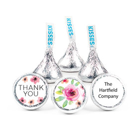 """Personalized Bonnie Marcus Thank You Bouquet 3/4"""" Stickers (108 Stickers)"""