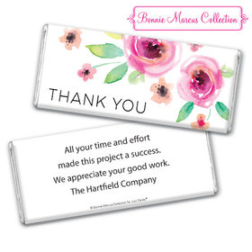 Personalized Bonnie Marcus Thank You Bouquet Chocolate Bar & Wrapper