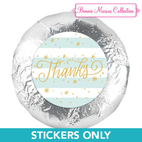 """Personalized Bonnie Marcus Thank You Stars and Stripes 1.25"""" Stickers (48 Stickers)"""