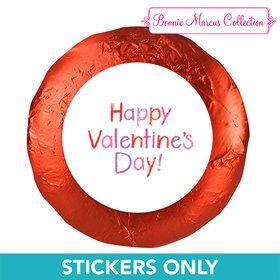 "Bonnie Marcus Collection Valentine's Day Message 1.25"" Stickers (48 Stickers)"