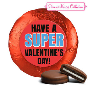 Bonnie Marcus Collection Valentine's Day Superhero Chocolate Covered Oreos