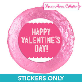 "Bonnie Marcus Collection Valentine's Day Pattern 1.25"" Stickers (48 Stickers)"
