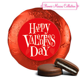 Bonnie Marcus Collection Valentine's Day Cute Heart Chocolate Covered Oreos (24 Pack)