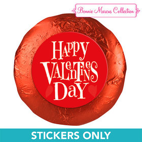"Bonnie Marcus Collection Valentine's Day Cute Heart 1.25"" Stickers (48 Stickers)"