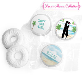 Bonnie Marcus Collection Tropical I Do Wedding Stickers - Custom Life Savers