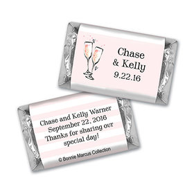 Bonnie Marcus Collection Chocolate Candy Bar and Wrapper The Bubbly Custom Wedding Favor
