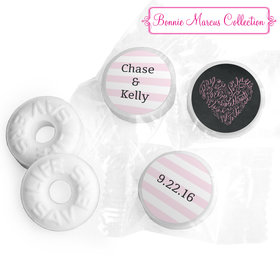 Bonnie Marcus Collection Whispering Heart Wedding Stickers - Custom Life Savers