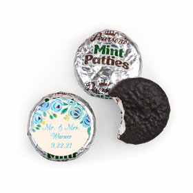 Bonnie Marcus Collection Wedding Favors Here's Something Blue Pearson's Mint Patties