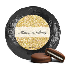 Personalized Bonnie Marcus Wedding All That Glitters Milk Chocolate Covered Oreos