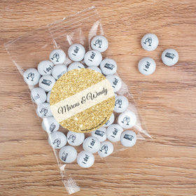 Personalized Wedding All that Glitters Candy Bag with JC Chocolate Minis