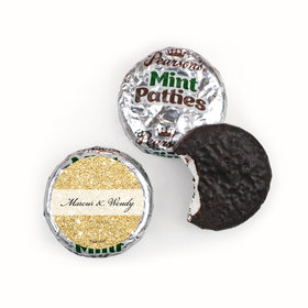 Personalized Bonnie Marcus Wedding All That Glitters Pearson's Mint Patties