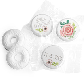 Personalized Bonnie Marcus Wedding Blossom Bliss Life Savers Mints