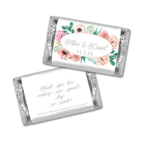 Personalized Bonnie Marcus Bridal Shower Blossom Bliss Hershey's Miniatures