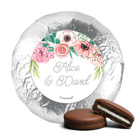 Personalized Wedding Reception Blossom Bliss Chocolate Covered Oreos (24 Pack)