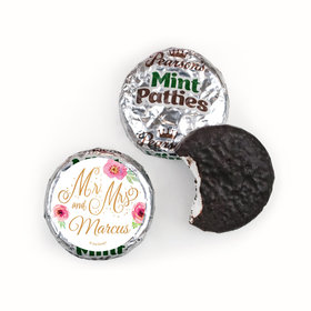 Personalized Wedding Mr. & Mrs. Pearson's Mint Patties