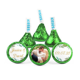 Personalized Bonnie Marcus Wedding Forever Foliage Hershey's Kisses (50 pack)