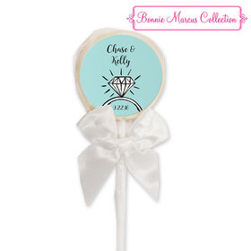 Bonnie Marcus Collection Personalized Lollipop Last Fling Custom Wedding Favor (24 Pack)