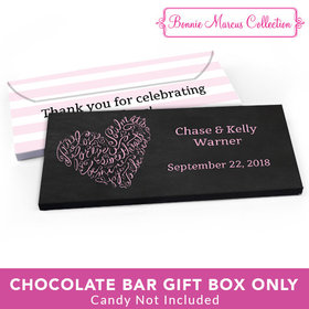 Deluxe Personalized Wedding Swirl Gift Box