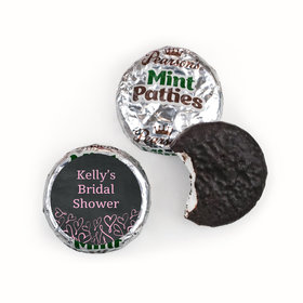 Bonnie Marcus Collection Bridal Shower Whispering Heart Pearson's Mint Patties
