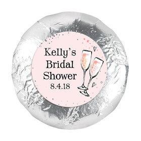 """Bonnie Marcus Collection Wedding The Bubbly 1.25"""" Stickers (48 Stickers)"""
