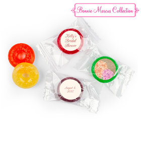 Bonnie Marcus Collection Blooming Joy Bridal Shower Stickers Personalized LifeSavers 5 Flavor Hard Candy
