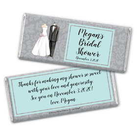 Bonnie Marcus Collection Personalized Chocolate Bar Wrappers Chocolate and Wrapper Forever Together Bridal Shower Favors