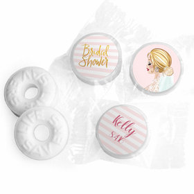 Bonnie Marcus Collection Bridal March Bridal Shower Stickers - Custom Life Savers