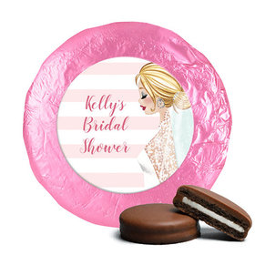 Bonnie Marcus Collection Wedding Bridal Shower Favors Milk Chocolate Covered Oreo Cookies