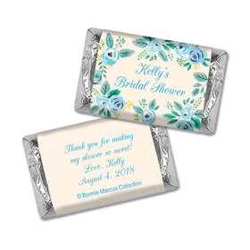 Bonnie Marcus Collection Bridal Shower Here's Something Blue Personalized Mini Wrappers