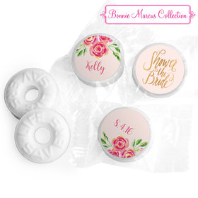 Bonnie Marcus In the Pink Bridal Shower Stickers - Custom Life Savers