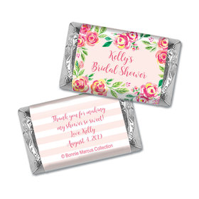 Bonnie Marcus Collection Bridal Shower In the Pink Personalized Mini Wrappers