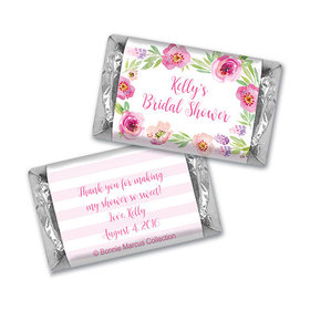 Bonnie Marcus Collection Bridal Shower Floral Embrace Personalized Mini Wrappers