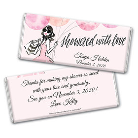 Bonnie Marcus Collection Personalized Chocolate Bar Wrappers Bridal Shower Blithe Spirit Personalized