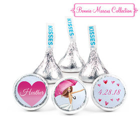 Personalized Bonnie Marcus Bridal Shower Love Reigns Hershey's Kisses (50 Pack)