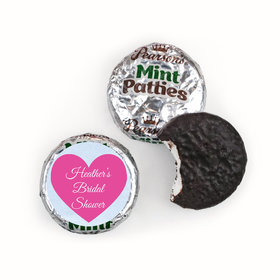 Personalized Bridal Shower Love Reigns Pearson's Mint Patties