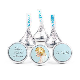 Personalized Bonnie Marcus Bridal Shower Bride to Be Hershey's Kisses (50 pack)