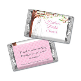 Personalized Bonnie Marcus Bridal Shower Wonderful Wedding Dress Mini Wrappers Only