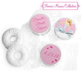 Personalized Bonnie Marcus Wedding Beautiful Bride with Bow Blonde Life Savers Mints