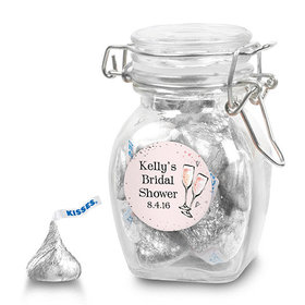 Bonnie Marcus Collection Personalized Latch Jar The Bubbly Custom Bridal Shower (6 Pack)