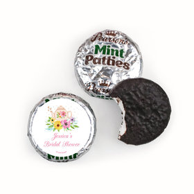 Personalized Bridal Shower Garden Tea Party Pearson's Mint Patties