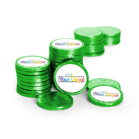 Business Promotional Chocolate Coins Add Your Logo (84 Pack)