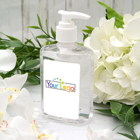 Personalized Hand Sanitizer Add Your Logo 8 fl. oz bottle