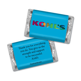 Personalized Business Promotional Add Your Logo Hershey's Miniatures Wrappers Only