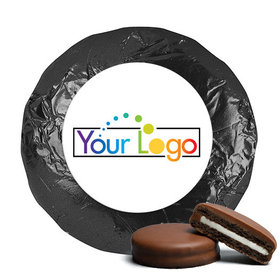Add Your Logo Business Promotional Chocolate Covered Oreos (24 Pack)